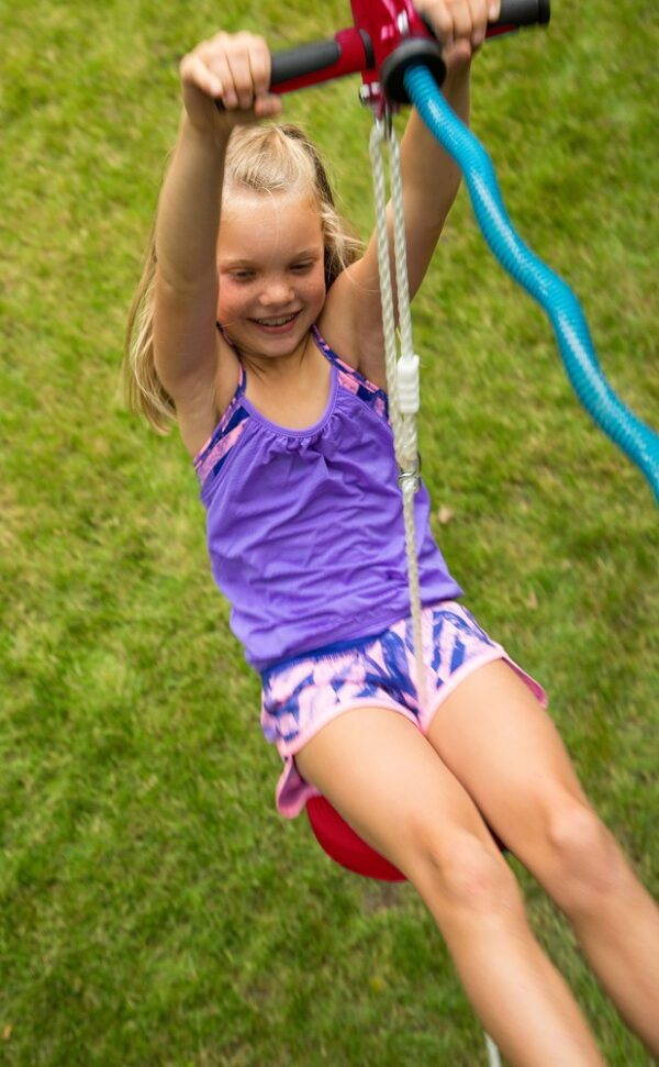 90 ft Eagle Zip Line, Slacker's Zip Line, Zip Lines Canada 90 ft zip line, backyard fun