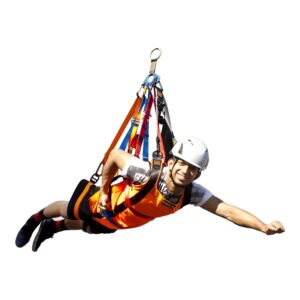 superman harness, zip line harness, zip line equipment